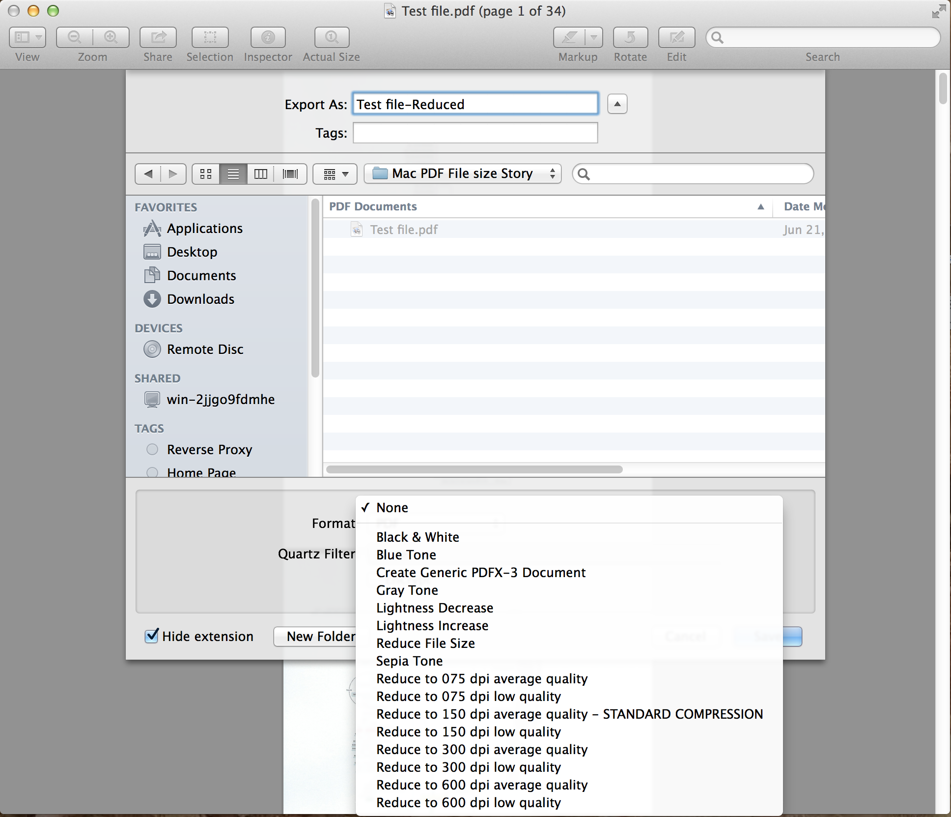 How to reduce scanned pdf file size on mac 02 pdf mac file size ccuart Images